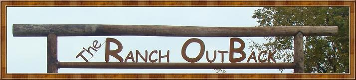 The Ranch OutBack sign